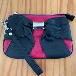 Betsey Johnson Bow Clutch
